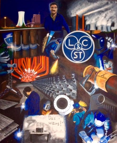 Ausstellung - Blaumänner